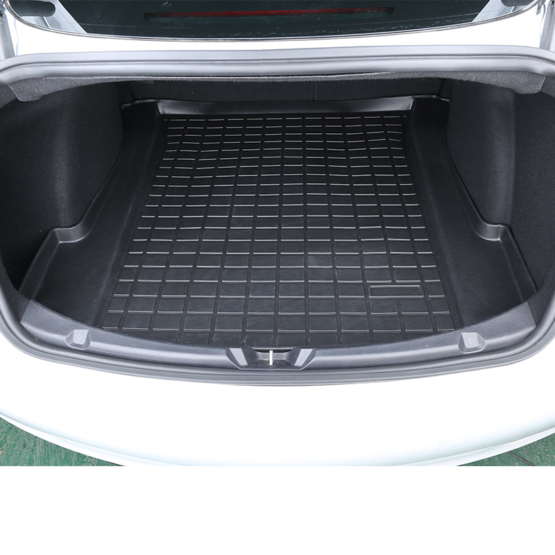TPE For Tesla model 3 trunk mat Tesla model 3 accessories model 3 tesla three tesla model 3 /accessoires model3