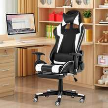 Racing Chair WCG Footrest Internet Cafe with Gamer