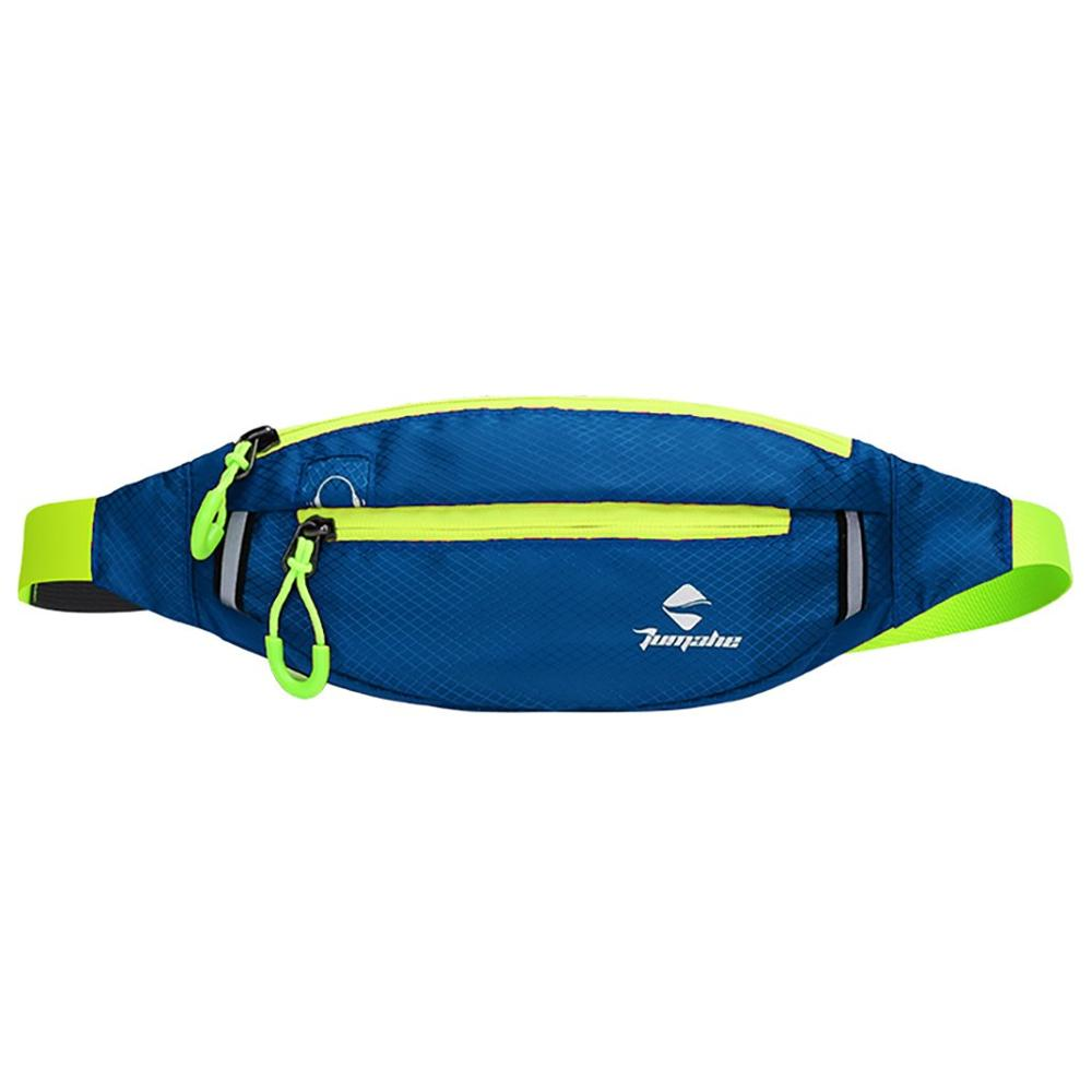 Men's And Women's Waist Bag Pack Waterproof Outdoor Sports Pockets Running Pockets Wild Fashion Simple Casual  H1