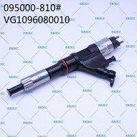 Injetor diesel comum 095000 do trilho 8102 do injetor 095000 do acessório do automóvel de erikc 8102-0950008102 vg1096080010 para o caminhão de howo