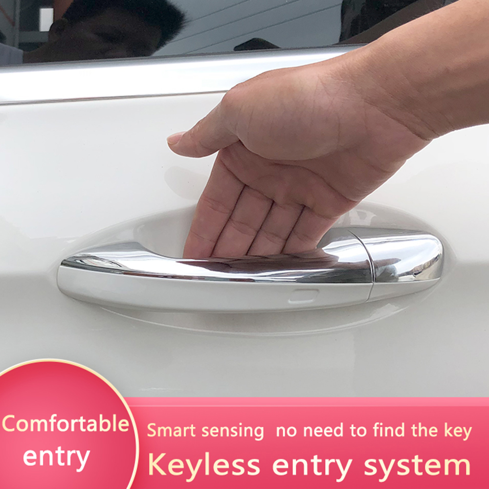 Car Smart Key with oem <font><b>door</b></font> <font><b>handle</b></font> oem keyless entry comfort access module window roll up for <font><b>Mercedes</b></font> Benz c class w205 image