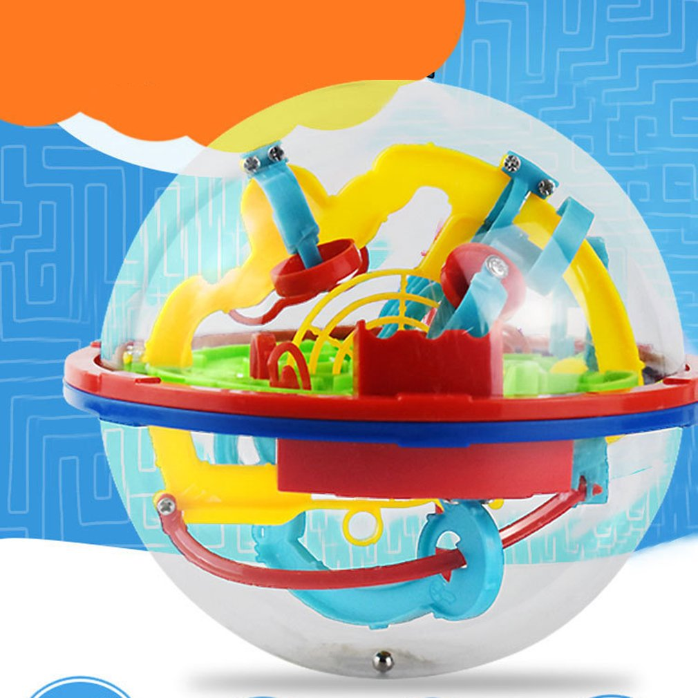 3D Puzzle Magic Maze Ball 299 Level Perplexus Magical Intellect Marble Puzzle Game IQ Balance Educational Toys For Kids