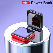 Mini Power Bank 30000 MAh Cho IPhone7 Xiaomimi Powerbank Pover Bank Cổng USB Đôi Pin Ngoài Poverbank Di Động(China)
