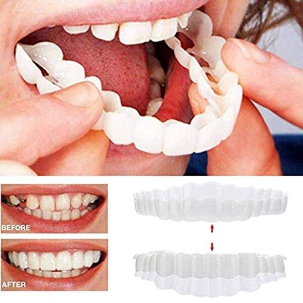 Comfort Fit Flex Cosmetic Teeth Denture Teeth Top Cosmetic Veneer