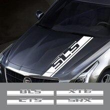 Autocollant de capot de voiture, pour Cadillac ATS cds Escalade BLS CT4 CT5 CT6 EXT st SLS SLR XLR XT4 XT5 XT6 XTS, accessoires Auto