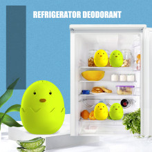 Дезодорант коробка холодильник запах удаления очиститель воздуха активированный бамбуковый уголь мультфильм шкаф запахи нейтрализатор абсорбер