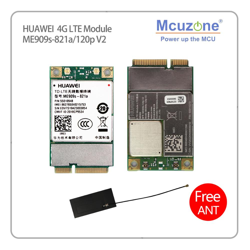 NEW Original For Huawei Mini-PCIe ME909s-120p V2 ME909S-821a LTE Cat4 WCDMA GSM Module FDD/DC-HSPA+/UMTS/EDGE 3G/4G Raspberry Pi