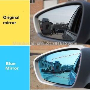 SmRKE 2 шт. для Audi Q5/Q7 зеркало заднего вида синие очки широкий угол Светодиодные поворотники свет мощность Отопление