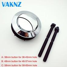 Двойная смывная Кнопка бака для унитаза круглая форма кнопки для унитаза аксессуары для ванной комнаты 58 мм/48 мм/38 мм