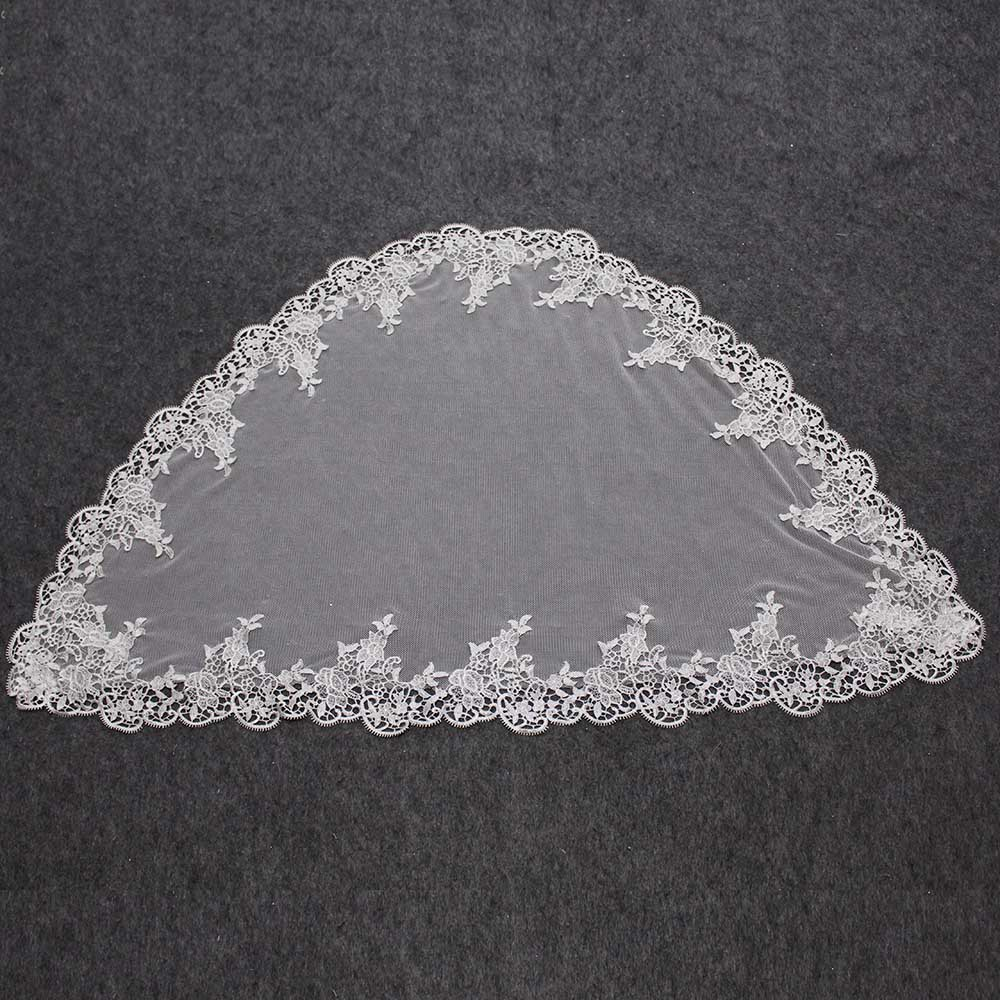 Veu CCB Church Catholic Lace Veil Spanish Lace Mantilla Veil Scarf Latin Mass Head Cover
