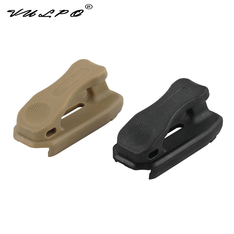 VULPO 3units/lot P Style Buckle End To End Nato Ranger Floorplate 5.56 BK/DE