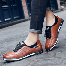 цена на Spring Casual Men Shoes Plus Size 46 47 Breathable Comfortable Mesh Mens Shoes Fashion Elastic Band Flats Leather Shoes Men