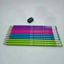 Sharpener Drawing-Pencil-Set Weibo Kids Child Gift with Kawaii for Creative 12pcs/Set