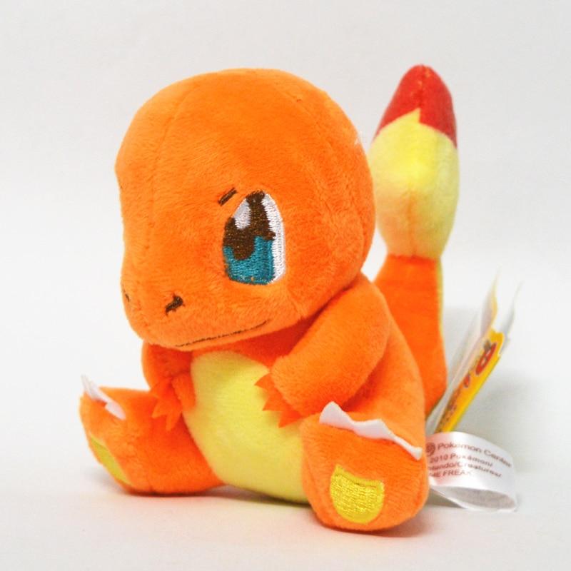 13 centímetros TAKARA TOMY Pokemon Charmander Plush Toys Stuffed Toys Japão Filme Charmander Anime Bonecas Presentes de Aniversário de Natal para Crianças|Stuffed & Plush Animais|   -