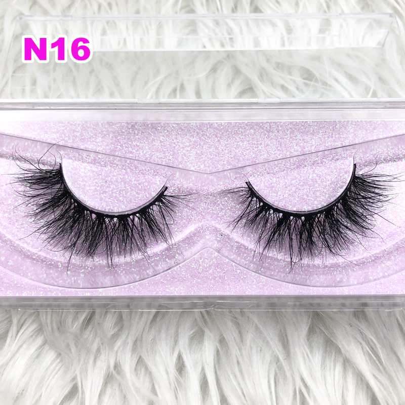 Fashion Style Luxury 100% Real Mink Strip Lashes 3d Miami Lashes Natural Long Soft Mink Lashes