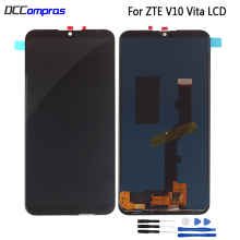 For ZTE Blade V10 Vita LCD Display Touch Screen Digitizer For ZTE Blade V10 Vita Display Assembly Replacement Screen LCD new 5 inch full lcd display touch screen digitizer assembly replacement for zte blade x5 blade d3 t630 free shipping