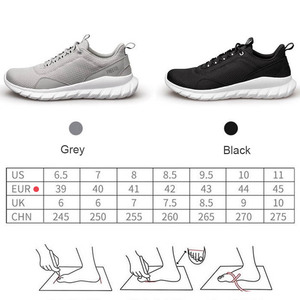 Image 5 - من شاومي سلسلة البيئية FREETIE 39 44 حجم كبير أحذية رياضية للرجال ضوء تنفس الحياكة مدينة تشغيل حذاء رياضة في الهواء الطلق