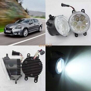 July King 18W 6500K 6LEDs LED Daytime Running Lights LED Fog Lamp case for Lexus GS350 / GS450h / GS460 2012-15, over 1260LM/pc
