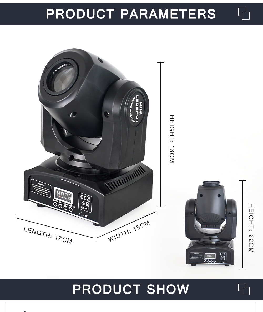 High Quality gobo moving head