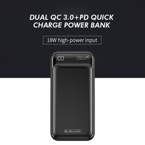 Image 1 - Jellico Power Bank 20000mAh LED Portable Battery Power Bank PD Fast Quick Charge 12V Powerbank for iPhone Xiaomi mi Power Bank