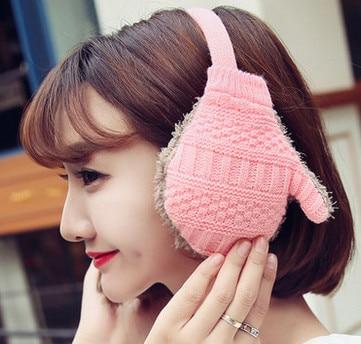 Ear Warmers Women Ladies Girl Sweet  Plush Fluffy Warm Fur Earmuffs Earlap Ear Cover Ear Muffs Orejeras Winter Freeshipping