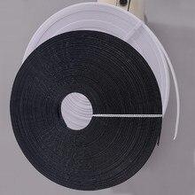 50 ярдов полиэстер белый черный полиэфирная кость с низкой плотностью обвалки для свадебного платья Свадебные платья Корсеты шляпы сумки