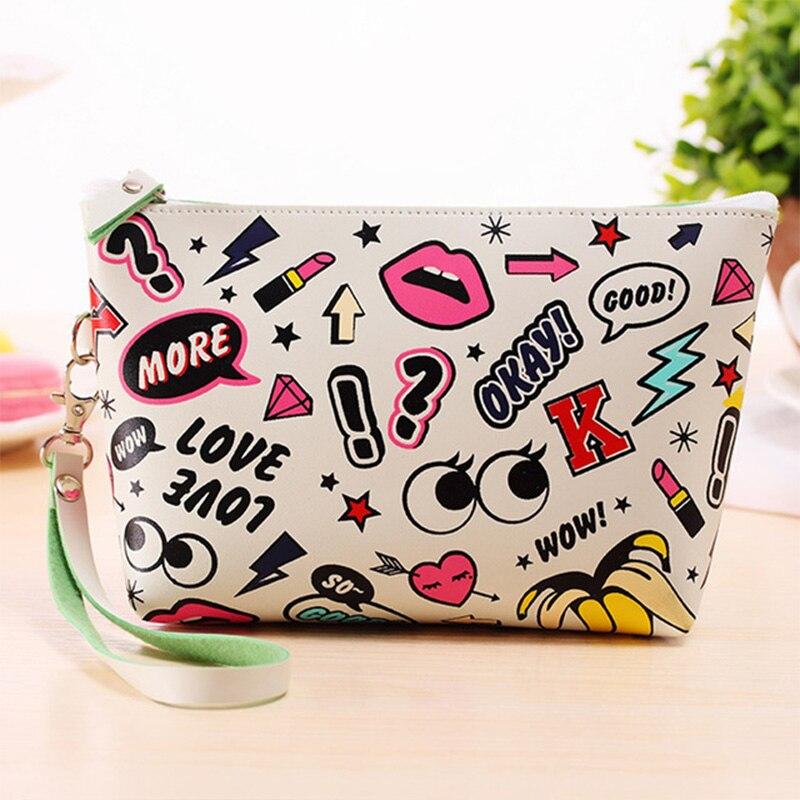 Aosbos Waterproof Travel Cosmetic Bag Large Capacity Makeup Storage Pouch Bags Women Nylon Wash Toiletry Kit Cosmetic MakeUp Bag