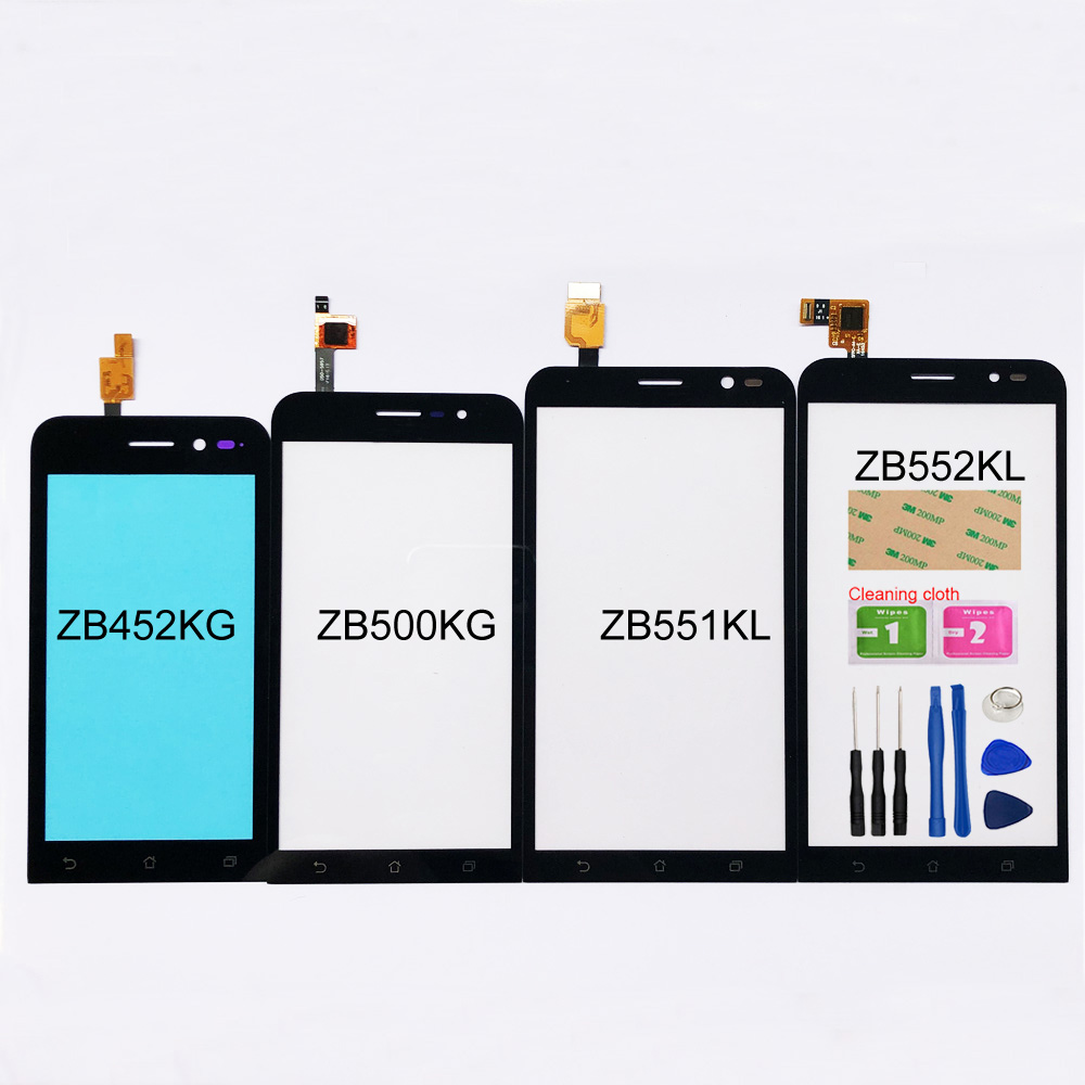 Touchscreen For Asus ZenFone Go ZB552KL/ZB551KL/ZB500KG/ZB452KG Touch Screen Digitizer Sensor Glass Panel Replacement