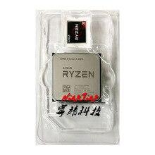 AMD Ryzen 3 3100 R3 3100 3.6 GHz 쿼드 코어 8 스레드 65W CPU 프로세서 L3 = 16M 100 000000284 소켓 AM4 새로하지만 쿨러없이