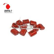 Paso de condensador de película de polipropileno CBB, 15mm, 20mm, 250 V, 630V, 400V, 220nF, 330nF, 470nF, 680nF, 820nF, 1uF, 450 uF, 1,5 Uds.