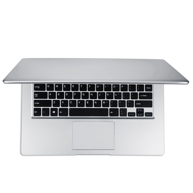 14 Inch 1080P Laptop 4GB RAM 64GB EMMC  Atom Z8350 Quad Core CPU Windows 10 System Notebook Computer(EU Plug)