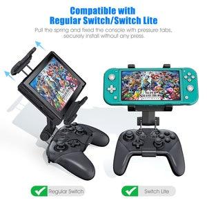 Переключатель Pro контроллер ручка игровой контроллер зажим держатель кронштейн консоль держатель для Nintendo переключатель/Lite консоль