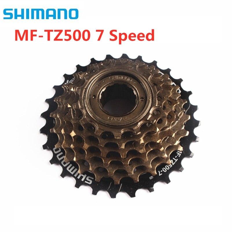 Shimano bicicletas freewheel, MF-TZ500/tz21 7 velocidade cassete roda livre 14-28 t para mtb estrada ciclismo bicicleta atualização de tz21