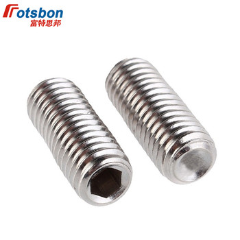 Screw 100Pcs//200Pcs DIN916 GB80 M2 M2.5 A2 Stainless Steel 304 Surfboard Fin Screws Inner Hex Cup Point Socket Set Grub Screw Length: M2X5 100Pcs