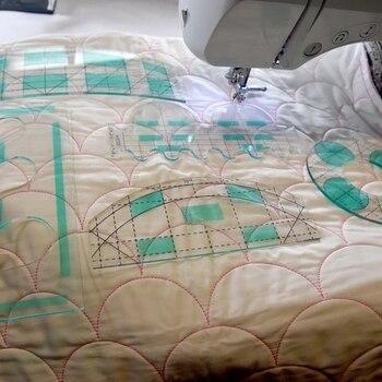 Movimento libero Quilting Essentials Modello di macchina da cucire quilting righello quilting modello patchwork righello quilter delle righello 1