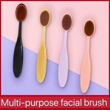 цена на Makeup brush single toothbrush type makeup beauty brush Foundation brush without makeup makeup delicate brush One brush multi-pu