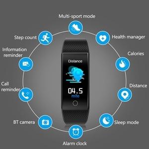 Image 2 - QW18T Smart Bracelet Measure Body Temperature Heart Rate Blood Pressure Bluetooth Sports Information Reminder Smart watch