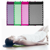 YOGA Massage Acupuncture Mat Cushion Body Massager For Shakti Acupuncture Pad Pain Relief Size 72*42cm