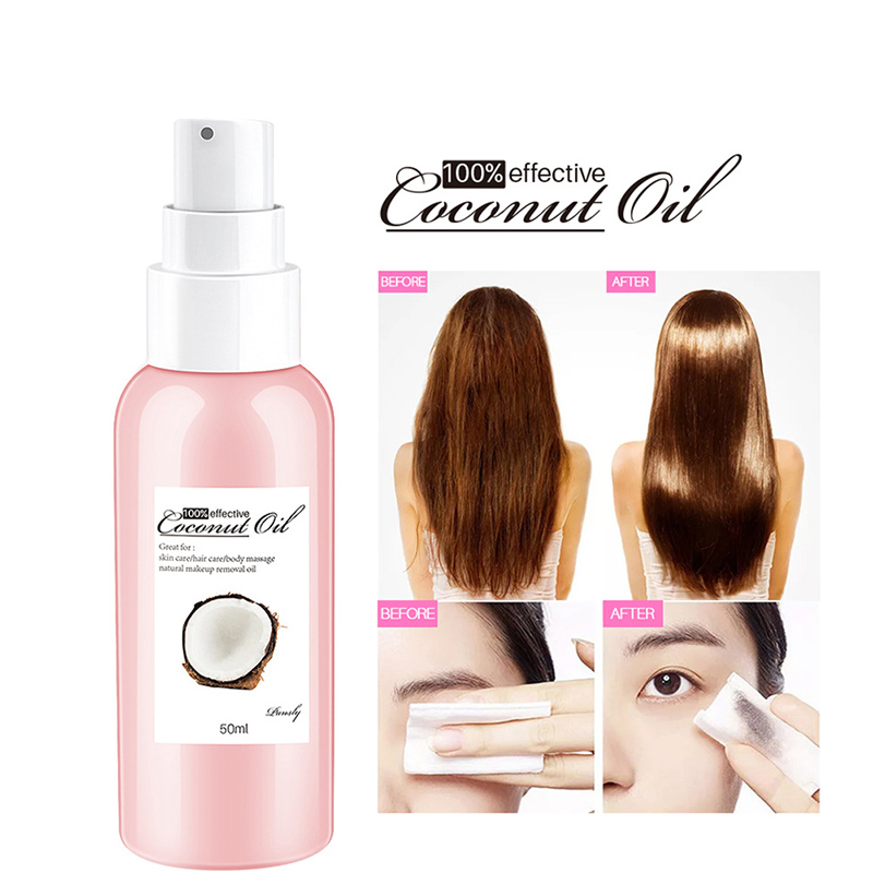 Multifunctional Coconut Moisturise Hair Keratin Essential Oil Natural Argan for Skin Moisturizing Care Essence