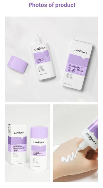 LANBENA 30ml Face Base Primer Women Makeup High-power Sunscreen Base Cream Whitening Refreshing Anti-aging Cream TSLM1 2