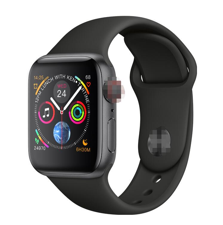 IWO 8 PLUS 44mm Watch 4 Heart Rate Smart Watch case for apple iPhone Android phone
