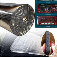 1 Roll Car Soundproof Deadening Mat 25x50cm Firewall Insulation Audio Noise Insulator Pad Auto Interior Car-Styling Accessories