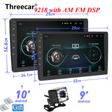 9 de 10 pulgadas Android 8,1 navegación GPS Autoradio Multimedia reproductor de DVD Bluetooth WIFI MirrorLink DSP OBD2 Universal 2Din Radio de coche(China)