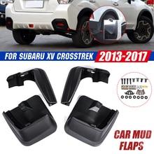 Auto Schlamm Flaps Für Subaru Xv cross 2011 2012 2013 2014 2015 2016 2017 Schmutzfänger Splash Guards Schlamm Klappe Kotflügel fender