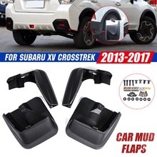 Xe Chắn Bùn Cho Subaru XV Crosstrek 2011 2012 2013 2014 2015 2016 2017 Mudflaps Bắn Vệ Binh Bùn Sập Mudguards FENDER
