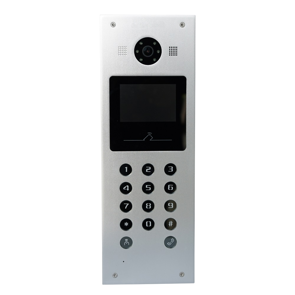 Hik HD Video Access Control DS-KD3002-VM Video Door Station,IC Card;password Open Door;