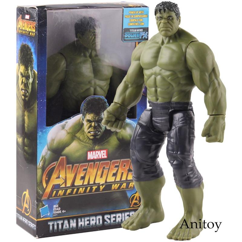 Titan Hero Series HULK Marvel Avengers Infinity War Power FX Model Figure Toys