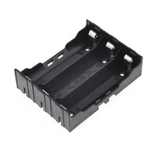 DIY Battery Holder w 6 Pins for 3x 18650 Rechargeable Li-ion Batteries(China)