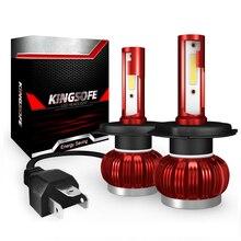 цена на 2x Car Light Bulbs LED H4 H1 H7 H11 9006 9005 35W Car Headlight Clod White 6000K 8000LM Headlamp COB Bulb Auto Fog Light 12V 24V