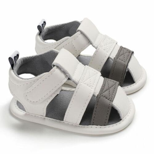 Summer Baby Girl Boy Cute Sandal Newborn Infant Casual Outdoor Crib Shoe 0-18 Months